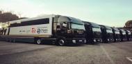 Los primeros camiones toman el Circuit de Barcelona-Catalunya