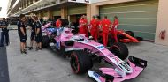 Coche de Force India en Abu Dabi - SoyMotor