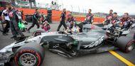 Grosjean, instantes antes de la carrera en Silverstone - SoyMotor.com