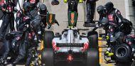 Parada de Kevin Magnussen en Silverstone - SoyMotor.com