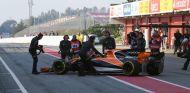McLaren-Honda sufrió severos problemas de fiabilidad durante la pretemporada - SoyMotor