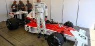 Mika Häkkinen con el McLaren M23 - SoyMotor