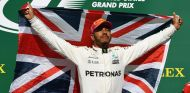 Lewis Hamilton en el podio de Estados Unidos - SoyMotor