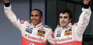 Hamilton y Alonso en 2007 - SoyMotor