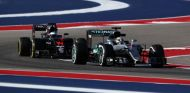Hamilton y Alonso en el GP de Estados Unidos - SoyMotor