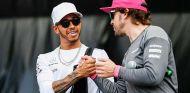 Lewis Hamilton y Fernando Alonso en Austin - SoyMotor.com