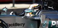 Lewis Hamilton, hoy en el Circuit of the Americas - laF1