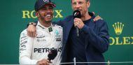 Lewis Hamilton y Jenson Button en Silverstone - SoyMotor.com
