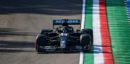 """Hamilton se queda con ganas de Pole Imola: """"Mi vuelta fue malísima"""" - SoyMotor.com"""