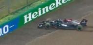 Por qué Hamilton no recibió sanción por incorporarse marcha atrás - SoyMotor.com