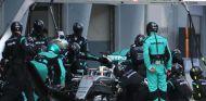 Pit stop de Lewis Hamilton - LaF1.es