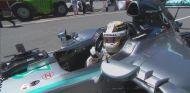 Lewis Hamilton tras conseguir la Pole de Canadá - LaF1