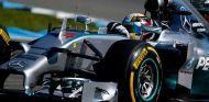 Hamilton y Rosberg, separados por centésimas a las vísperas de la Pole