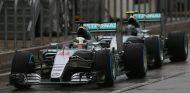 Lewis Hamilton y Nico Rosberg en Estados Unidos - LaF1
