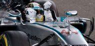 Lewis Hamilton en Abu Dabi, cuando se proclamó campeón del mundo - LaF1