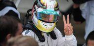 """Hamilton: """"Nunca he tenido intención de irme de Mercedes"""""""