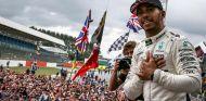 Lewis Hamilton tras su victoria en Silverstone - SoyMotor