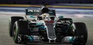 Lewis Hamilton en Singapur - SoyMotor