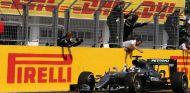 Hamilton en el GP de Hungría - SoyMotor