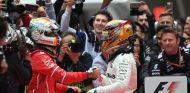 Hamilton y Vettel tras la carrera del GP de China - SoyMotor