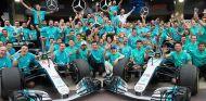 Celebración de Mercedes en Brasil - SoyMotor
