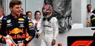 Lewis Hamilton tras la victoria de Max Verstappen en el GP de Alemania F1 2019 - SoyMotor.com