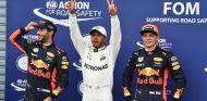 Hamilton, entre los dos Red Bull tras la clasificación en Monza - SoyMotor.com