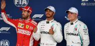 Vettel, Hamilton y Bottas tras la clasificación de Brasil - SoyMotor
