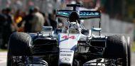 Lewis Hamilton en Monza - LAF1