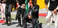 Gestos contra el racismo, ¿hasta cuándo?: desacuerdo entre los pilotos - SoyMotor.com
