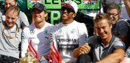 Mercedes en el GP de Gran Bretaña F1 2014: Domingo