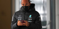 """Hamilton, recuperado de Monza: """"Afortunadamente no tengo nada"""" - SoyMotor.com"""