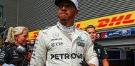 Lewis Hamilton tras la clasificación en Spa - SoyMotor.com