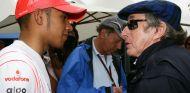 Lewis Hamilton y Jackie Stewart - LaF1