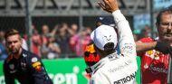 Lewis Hamilton después de la clasificación de México - SoyMotor