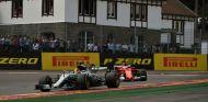 Vettel y Hamilton en Spa - SoyMotor.com