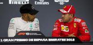 Hamilton y Vettel en el Circuit de Barcelona-Catalunya - SoyMotor