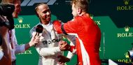 Lewis Hamilton y Sebastian Vettel en Hungaroring - SoyMotor.com