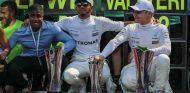 Celebración de Mercedes en Monza –SoyMotor.com