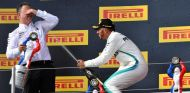 Lewis Hamilton celebra la victoria en Francia – SoyMotor.com