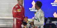 Sebastian Vettel y Lewis Hamilton – SoyMotor.com