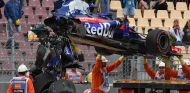 STR13 de Brendon Hartley tras el accidente en Libres 3 - SoyMotor.com
