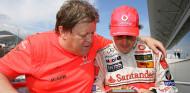 """Haug, sobre el GP de Hungría de 2007: """"Parecí un idiota"""" - SoyMotor.com"""