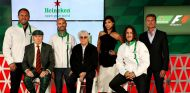 Presentación del acuerdo entre Fórmula 1 y Heineken - laF1