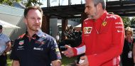 Christian Horner y Maurizio Arrivabene en Australia - SoyMotor.com