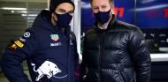 Sergio Pérez y Christian Horner en Silverstone - SoyMotor.com