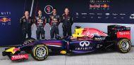El RB10, el nuevo bólido de Red Bull para buscar el quinto campeonato