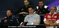 Rueda de prensa de jefes de equipo durante el GP de Australia - SoyMotor