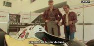 Hülkenberg y Prost con indumentaria de la época - SoyMotor.com