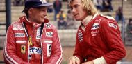 Niki Lauda y James Hunt en 1977 - SoyMotor